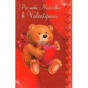 Nekupto Greeting Card For My Teddy Bear, G