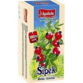 Apotheke Rosehip fruit tea 20 x 2.5 g