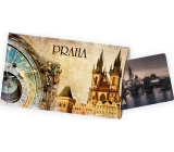 Ditipo Postcard with a gift Prague astronomical clock 115 x 195 mm