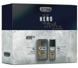 Str8 Hero 50 ml men's eau de toilette + 150 ml deodorant spray, gift set