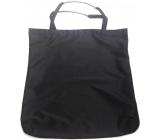 Shopping bag black with tube 41 x 38 x 4 cm 9944