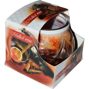 Admit Mulled Wine - Candied Wine Scented Candle in Glass 80 g