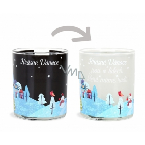 Albi Changing glass mug Beautiful Christmas is about the people we have 310 ml
