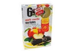 Tea Lights 6pcs. Apple Vanilla 7586