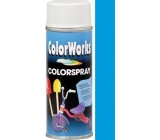 Color Works Colorspray 918510 nebesky modrý alkydový lak 400 ml