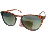Nae New Age Brown Tiger Sunglasses A60756