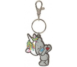Me to You PVC Unicorn Keychain 6 cm