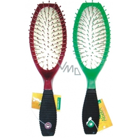 Abella Hair Brush Oval Large Different Colors 1 Piece 181M