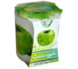 Admit Verona Green Apple - Green apple scented candle in glass 90 g