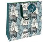 Nekupto Gift paper bag 32.5 x 32.5 x 14 cm Wilderness 1845 L - LIL