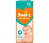 Pampers Sleep & Play 4, 9 - 14 kg diaper panties 50 pieces
