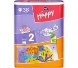 Bella Happy 2 Mini 3-6 kg nappy panties 38 pieces