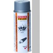 Schuller Eh Clar Prisma Color High Temperature Temperature Resistant Spray 91072 Silver 400 ml
