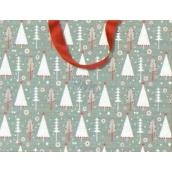Nekupto Christmas paper gift bag M - WLFM 1499