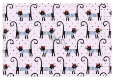 Albi Business card holder, cards French cats 9.5 cm x 7 cm