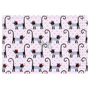 Business card case - French cats