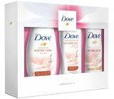 Dove Relaxing Care Winter Care 250 ml men's shower gel + 250 ml body lotion + 150 ml Women's antiperspirant deodorant spray, gift box