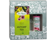 Dr. Popov Echinafit immunity original herbal drops 50 ml + Antigrip Tea herbal teabag with echinacea 30 g - 20 infusion bags, Christmas gift set
