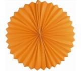 Lantern round orange 25 cm