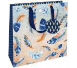 Nekupto Gift paper bag luxury medium 23 x 23 x 10 cm 1842 LIM