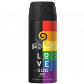 Ax Love is Love deodorant spray for unisex 150 ml limited edition