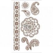 Tattoo decals Mandala 10.5 x 6 cm