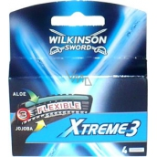Wilkinson Xtreme 3 spare heads 4 pieces