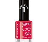 Rimmel London Super Gel by Kate Nail Polish 041 Darling Dahlia 12 ml