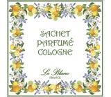 Le Blanc Cologne - Cologne Scented sachet 11 x 11 cm 8 g