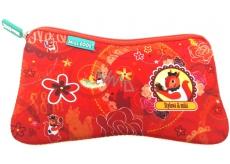 Nekupto Miss Cool Neoprene Bag Squirrel Stylish & sweet 21 x 11 x 1.5 cm