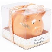 Albi Piggy bank small For a great friend orange 7 cm × 6.5 cm × 7.3 cm