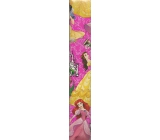 Ditipo Disney Christmas wrapping paper for children Princess dark pink 2 mx 70 cm