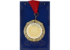 Albi Greeting Card W - Greeting Card with Medal - Best Dad