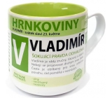 Nekupto Hrnkoviny Mug with the name Vladimir