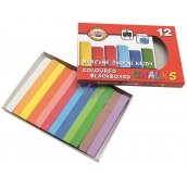 Koh-i-Noor Colorful school chalk 12 pieces