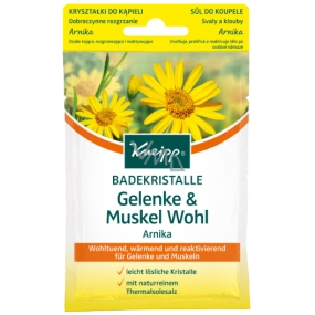 Kneipp Muscles and Joints bath salt releases and regenerates body after muscle exertion 60 g