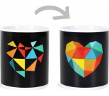 Albi Changing Mug Design Heart 310 ml