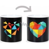 Albi Changing mug Designer heart 310 ml