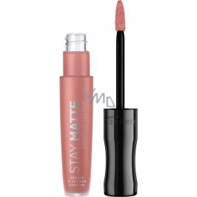 Rimmel London Stay Nude Liquid Lip Color liquid lipstick 707 Raw Kiss 5.5 ml