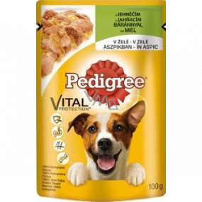 Pedigree Adult Vital Protection with lamb in jelly pocket 100 g