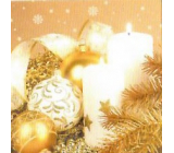 Nekupto Paper napkins 3 ply 33 x 33 cm 20 pieces of gold flask