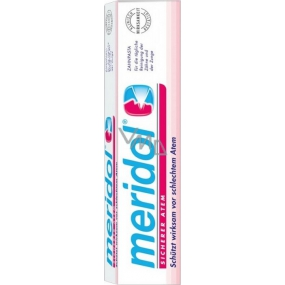 Meridol Safe Breath toothpaste protects against bad breath from the oral cavity 75 ml