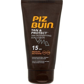Piz Buin Tan & Protect SPF15 protective milk accelerating the tanning process 150 ml