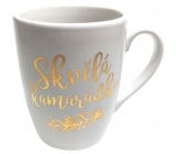 Albi Mug with gold text Great friend white 300 ml