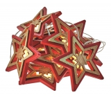 Emos Lighting Christmas Chain Star 1,35m, 10 LEDs, Warm White + 0.3m Power Cord