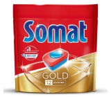 Somat Gold with 12-function dishwasher tablets remove even the most stubborn residues and stains from tea and coffee and provide perfect washing results even at 40 ° C 36 Duopack tablets