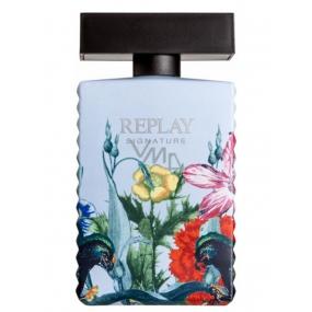 Replay Signature Secret EdT 100 ml men's eau de toilette