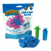 Mad Mattr Kinetic Sand Modeling Create and Build Blue 57g