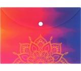 Albi Original Mandala Document Case on Rainbow A5 - 148 x 210 mm