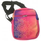 Albi Original Crossback Mandala shoulder bag 17 x 23 x 5 cm